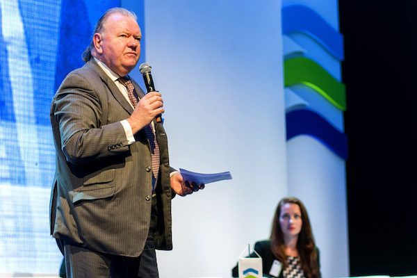 Ian Neill, Director of Agile Security Partners. Speaking at a Frontex 2015 conference.